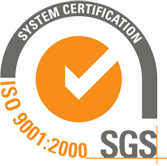 Certified system - ISO 9001